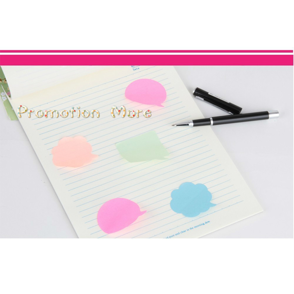 BPColor notes, paper note paper, instant message paper memo pad kawaii stickers WJ BQB3 PUHUO10