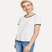 2019 New Women T-shirts Casual Harajuku Love Tops Tee Summer Female T shirt Short Sleeve T shirt For Women Clothing Solid cotton