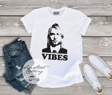 Nirvana Vibes T Shirt Music Festival Rock Concert UNISEX Women&men Tee Kurt Cobain Fan Hiphop Tops 2019