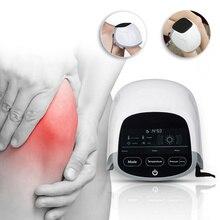 LASTEK Elderly Care Electric Pulse Massager Far Infrared Red Light Therapy Knee Pain Rheumatoid Arthritis Low Level Laser