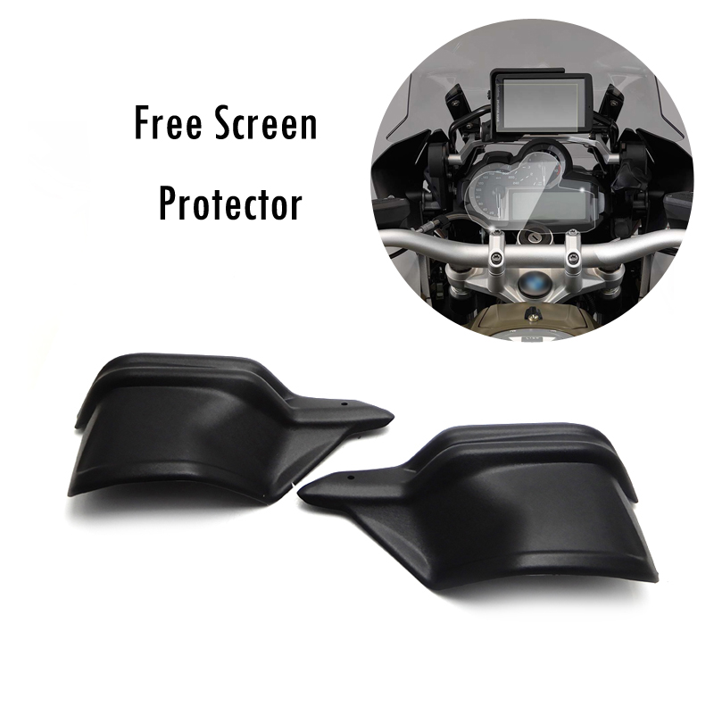 Motorcycle Handguards Hand Protectors Guards L & R for BMW R1200GS LC ADV 2013-2016 UP Buy Handguard Get free screen protector atv motorcycle wind shield handle hand guards motocross transparent handguards for honda cbf600 sa cbf1000 a cb1100 gio nc750