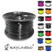 Black Color 1Kilo/2.2Lb Quality ABS 3.00mm 3D Printer Filament 3D Printing Pen Materials