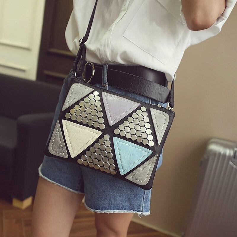 envelope bolsa ladies messenger bolsa PU Leather Bag : Small 24x5x18cm