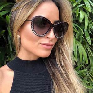 baa231464e8 vikulsi 2018 Sunglasses Women Men Cat Eye Sun glasses For