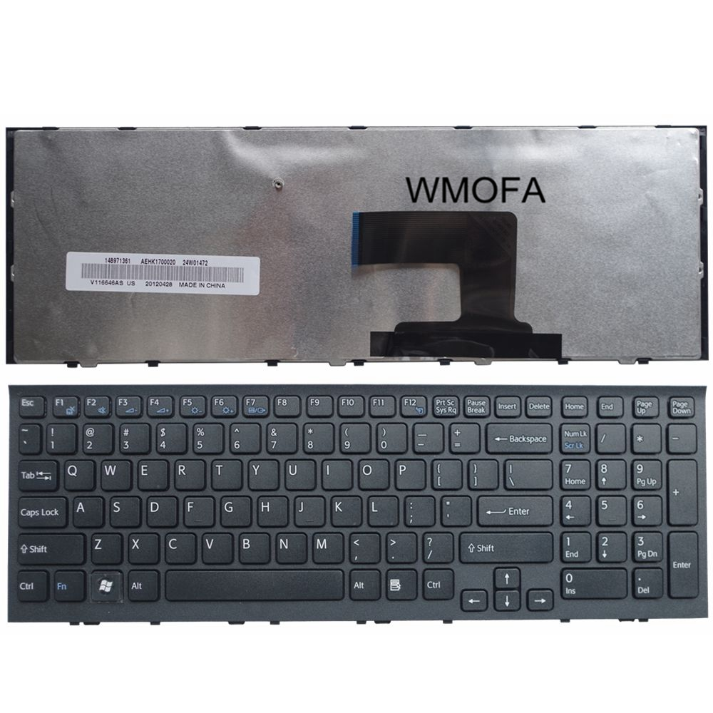 S-u-p-e-r Laptop parts Store US Black New English Replace laptop keyboard For SONY  EL111T EH1112T EH28 EH1S3C EH1S2C EH1S1C EH3S3C/P CN1 VAIO VPC-EH VPC-EL
