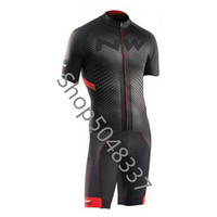 NW Triathlon Suit Cycling Skinsuit Quick dry short Sleeve Cycling Jersey 2019 Mens Bike Clothing maillot ciclismo hombre