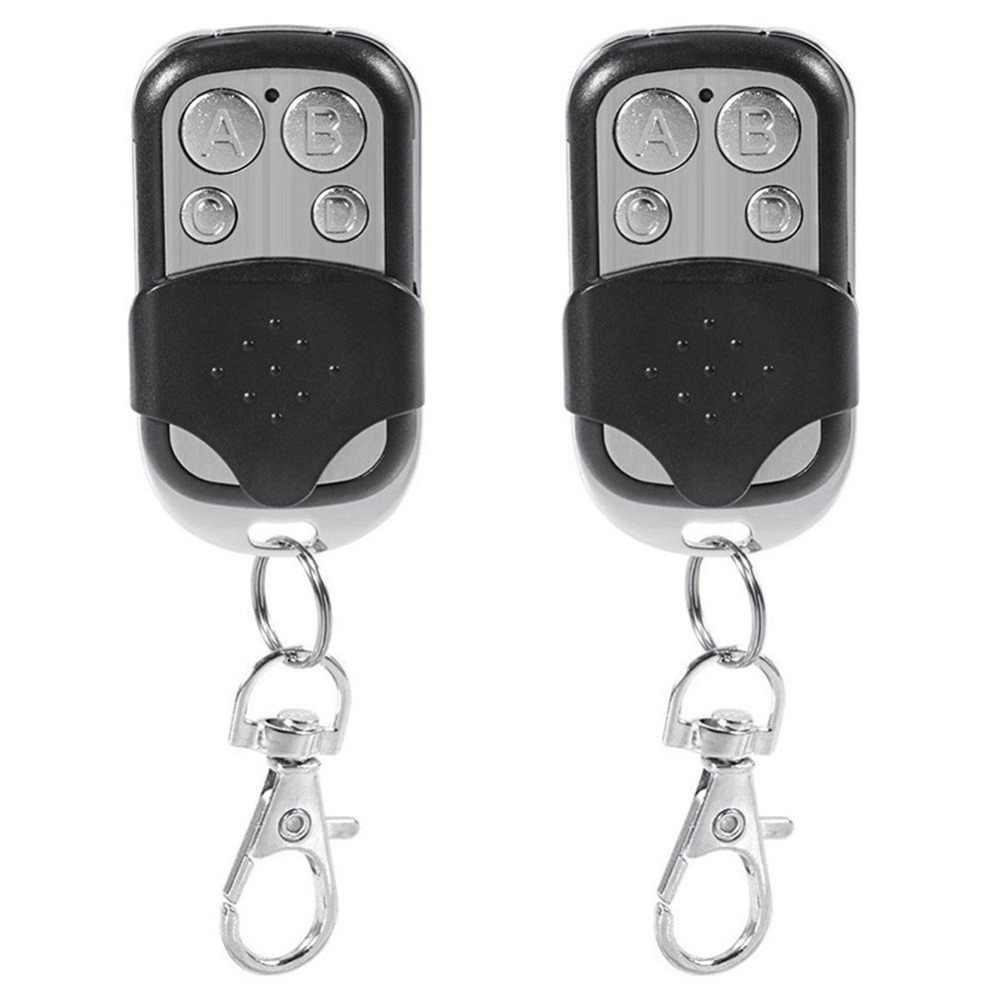 1PC Universal 4 ปุ่มเปิดประตูโรงรถประตูรีโมทคอนโทรล 433MHZ Clone คงที่รหัสการเรียนรู้สำหรับประตูโรงรถประตู
