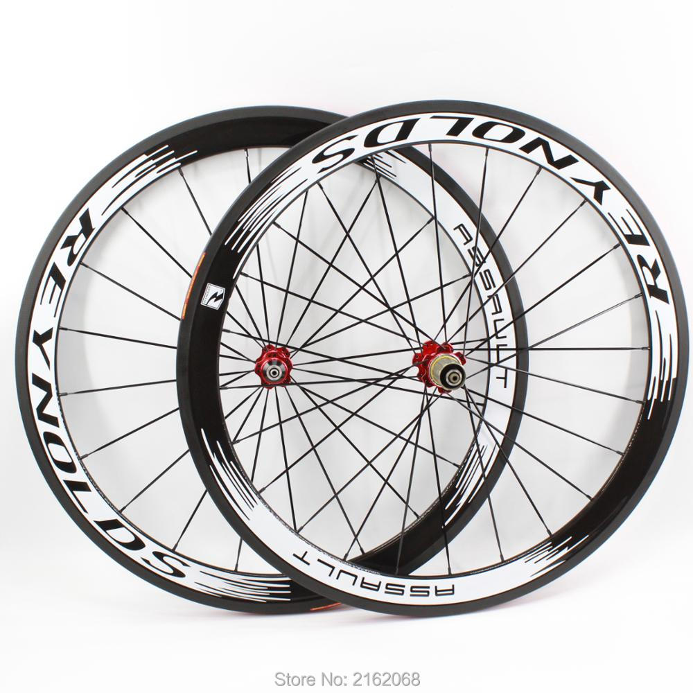 Newest white 700C 50mm tubular rims Road bicycle 3K UD 12K full carbon fibre bike wheelsets aero spokes skewers Free shipping carbon wheels 700c 88mm depth 25mm bicycle bike rims 3k ud glossy matte road bicycles rims customize carbon rims