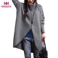 Sweater Female Plus Size S 4XL Women S Turtleneck Asymmetric Hem Long Sleeve Sweater Knitting Cardigan