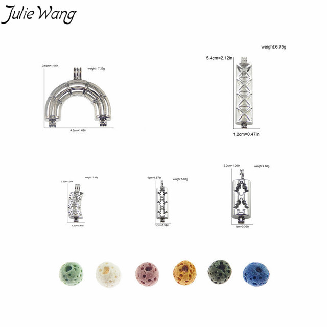 Aliexpress Com Buy Juliewang 5pcs Mix Sale Cute Snowman Christmas Tree Snowflake Cross Rainbow Hollow Tube Cage Locket Pendant Diy Finding Charm