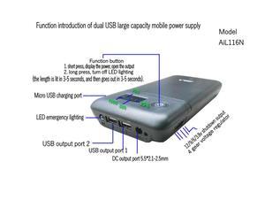 Image 4 - 5V 6V 9V 12V power bank 18650 Battery charging Mobile Power Charger Box DIY