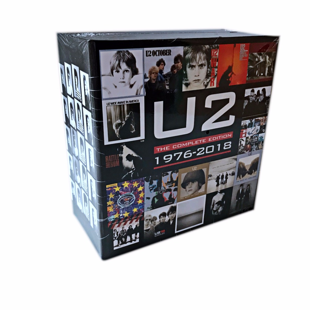 1976-2018 U2 The Complete Collection Edition 22 CD Box Set For Sale u2 complete edition 1976 2012 box 17cdbrand box free shipping