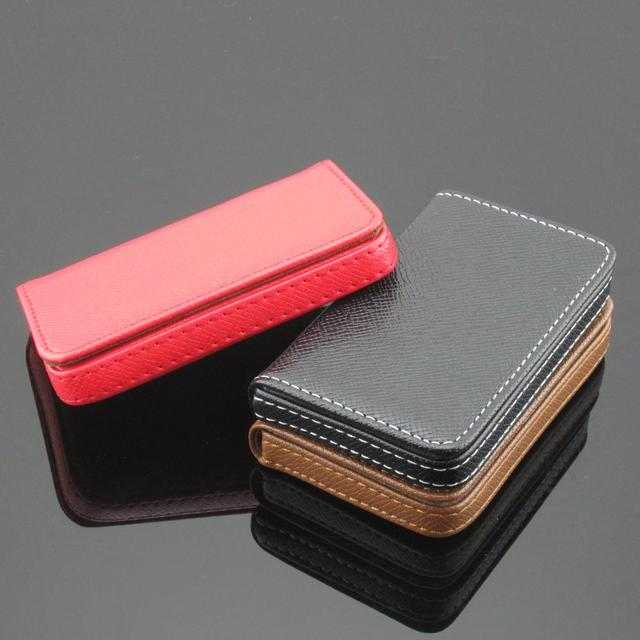Wholesale mens and womens creative business card holder large wholesale mens and womens creative business card holder large capacity card case free shipping colourmoves