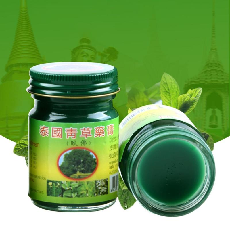 Thailand Tiger Herbal Balm Pain Ointment Oil Refresh Brain Tiger Balm Drive Out Mosquito relieve itching Skin Damage Repair C4 12pcs chinese tiger balm god medicine drive out mosquito summer cooling oil refresh brain influenza treatment headache dizziness