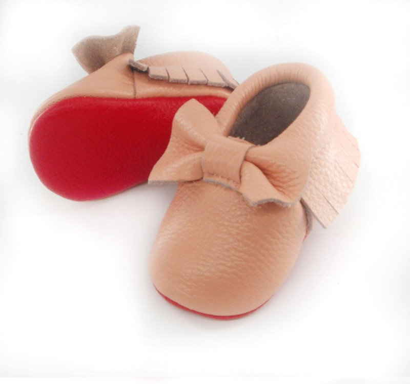 pink bow red sole 4