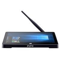 Большая распродажа Pipo X9S Intel Cherry trail Z8350 четырехъядерный Мини ПК Windows10 + Android 4G ram 64G EMMC ips экран ТВ коробка компьютер