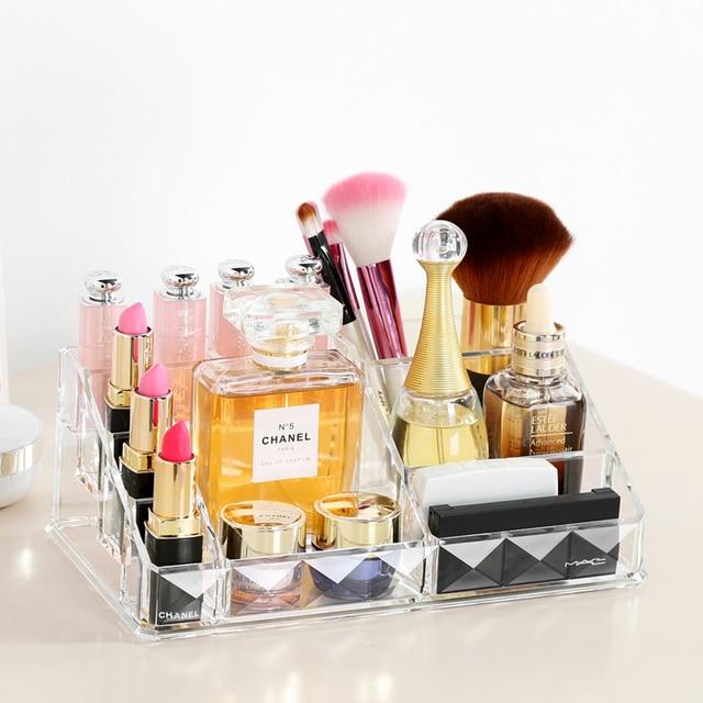 M Acrylic Cosmetic Box Lipsticks Storage Case Makeup