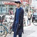 VIISHOW hombres de la Marca Suéter de la Rebeca Larga de Impresión Homme Tirón Cardigan de Punto Suéter Casual Trajes Largos Hombres M-XXL ZC15363