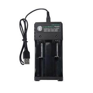 Image 5 - Rovtop 18650 зарядное устройство Черный 2 слота AC 110V 220V Dual для 18650 зарядки 3,7 V перезаряжаемая литиевая батарея