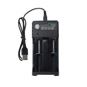 Image 5 - Rovtop 18650 Battery Charger Black 2 Slots AC 110V 220V Dual For 18650 Charging 3.7V Rechargeable Lithium Battery