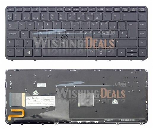 NEW for HP 731179-B71 736654-B71 NSK-CP2BV 9Z.N9JBV.20W Keyboard Swedish Finnish