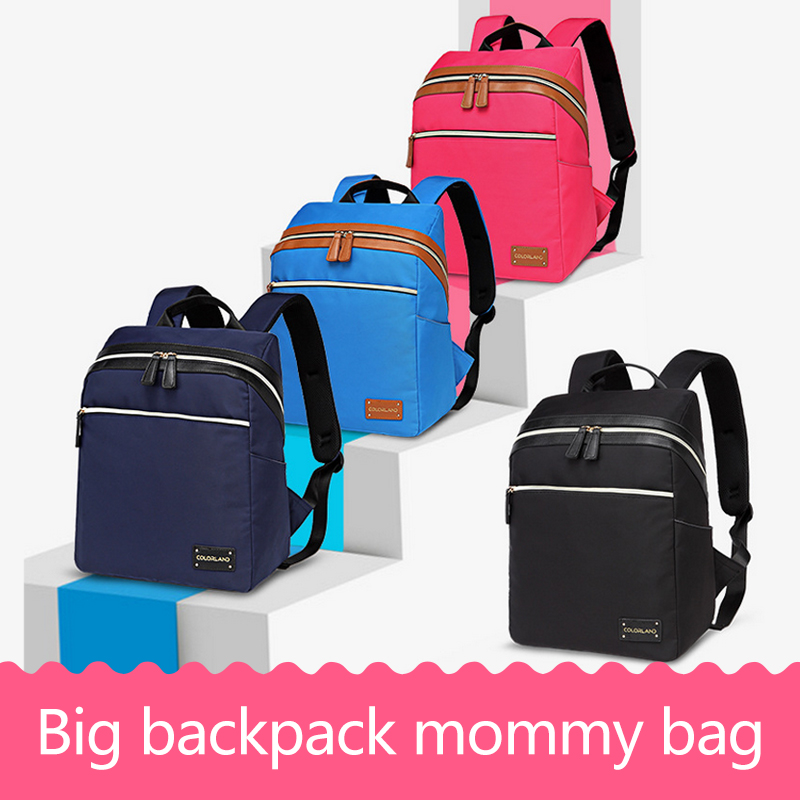 Mother Mummy Bag Baby Shoulder Diaper Bag Backpack Baby Care Nappy Changing Multifunctional Infant Bags Stroller Travel Handbag idore diaper pants 48pcs xl diaper pants ultra thin baby underpants disposable diaper soft baby care cover infant diaper nappy