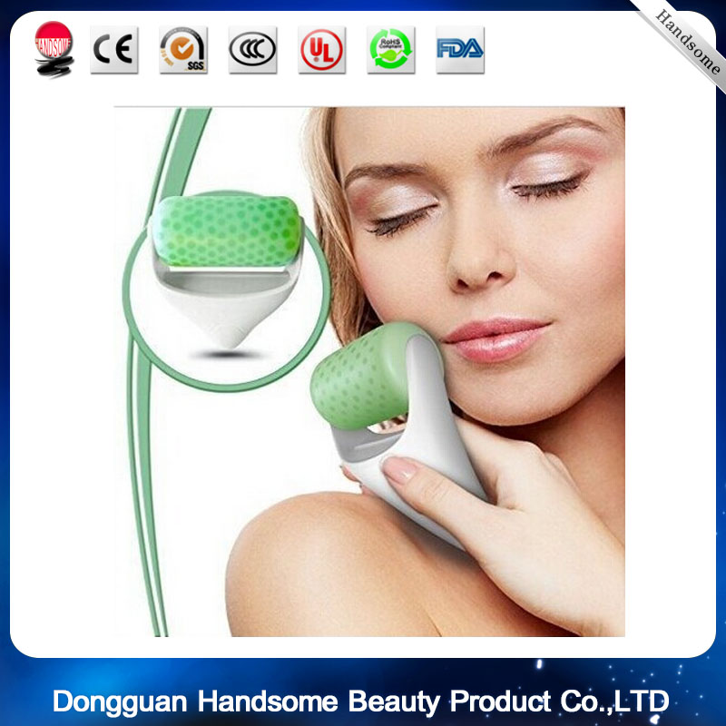 Quick Cool Ice Roller Skin Cool Ice Roller Massager for Face Body Massage Facial Skin Anti Wrinkles Iced Wheel Lift the Skin