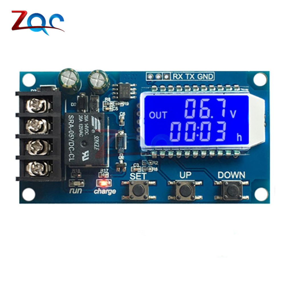 DC 6-60v 10A LCD Lead-acid Solar Battery Charge Controller Protection Board charger Time switch 12v 24v 36v 48v battery capacityDC 6-60v 10A LCD Lead-acid Solar Battery Charge Controller Protection Board charger Time switch 12v 24v 36v 48v battery capacity