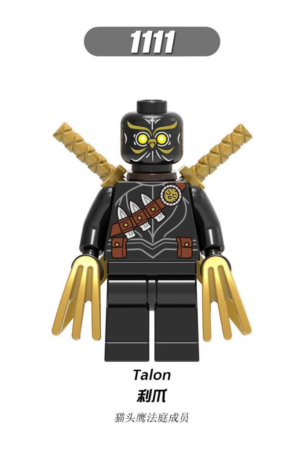 X0238 Batman image Super hero Superman Poisonous vine Frost killer cartoon character war machine compatible Legoing Building Bl