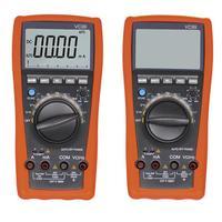 6000 Word High Precision 3 5/6 Digit Auto Range Test Device Digital Analog Bar Display Ammeter Multimeter Tester
