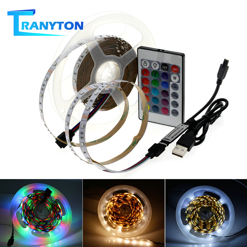 LED Night Light DIY 5V USB LED Strip 2835 For Bedroom / Washroom / Corridor / Stairs LED Strip Night Light.
