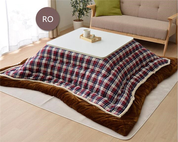 Fu08 Kotatsu Futon Cobertor Quadrado