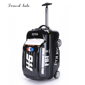 49b9fd473 ... con ruedas SPINNER viaje marca maleta moda. US $86.11. De cuento de equipaje  rodante la escuela mochila de viaje bolsa caso maleta spiderman para hero