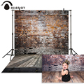 Allenjoy photography backdrops broken wooden brick wall photographic photo background studio photocall photophone shoot prop