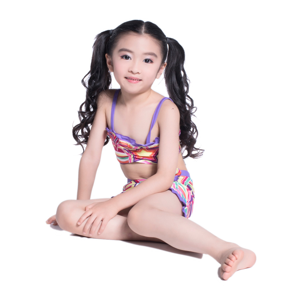 7a80d3c97a4 Designer Kids String Bikini For Teenage Girls Princess Swimwear Children  Two Pieces Bathing Suit Girl Swim Clothes-in Bikinis Set from Sports ...