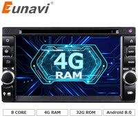 Eunavi 2G 32G 2 Din Android 6 0 Car PC Double 2 Din Audio 7 GPS