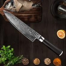 XITUO 8 Chef Knife 67 Layers Japan VG10 Damascus Steel Kitchen Black G10 Sashimi Cleaver Santoku Slicing Utility