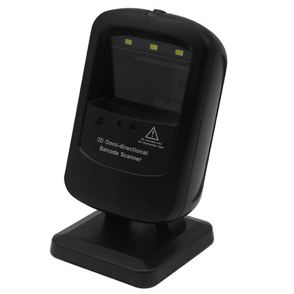 Omnidirectional CMOS 2D barcode reader with steady stand QR scanner support read color code from device display ru warehouse mj 2877 2d qr code scanner wireless bluetooth barcode scanner portable handheld 2d bar code scanner qr code reader
