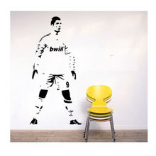 New arrival DECOR RONALDO REAL MADRID WALL DECAL ART STICKER FOOTBALL PLAYER CDS