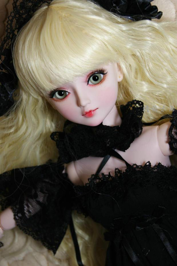 FULL SET Top quality 60cm pvc doll 1/3 girl bjd mantuoluo wig clothes all included night lolita reborn baby doll best gift model 1 6 scale bjd lovely kid sweet baby cute nana resin figure doll diy model toys not included clothes shoes wig