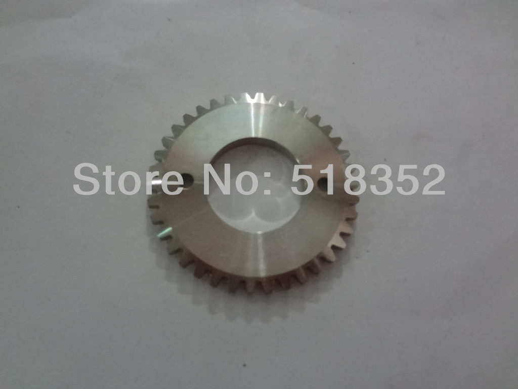 ФОТО X058D501H01 Mitsubishi M420 Gear with Bigger Teeth for M405C and 406C ID28mm for WEDM-LS Wire Cutting Machine Parts