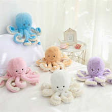 18cm Creative Cute Octopus Plush Toys Whale Dolls & Stuffed Small Pendant Sea Animal Children Baby Gifts