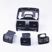 OEM VW Car Air Conditioning Air Outlet Vent Set For VW Golf Jetta MK5 MKV 1KD 819 728 1K0 819 703 1K0 819 704 1KD819203