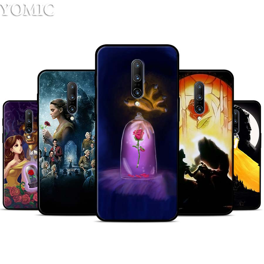 Beauty And The Beast Silicone Case for font b Oneplus b font font b 7 b