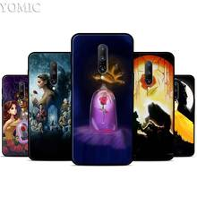 Beauty And The Beast Silicone Case for Oneplus 7 7Pro 5T 6 6T Black Soft Case for Oneplus 7 7 Pro TPU Phone Cover