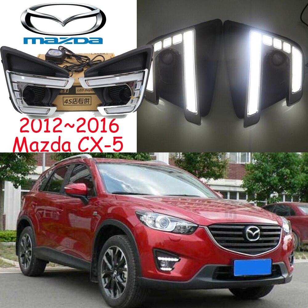 Car-styling,2012~2016 CX-5 daytime light,LED,Free ship!2pcs/set,CX-5 fog light;car-covers,CX 5,CX5