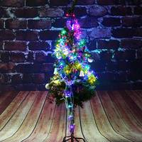 1x4M/2x3M Led String Light Hanging Snowing LED Outdoor Light Fairy Lights Christmas Wedding Party Decor Lamp AC220V EU Plug