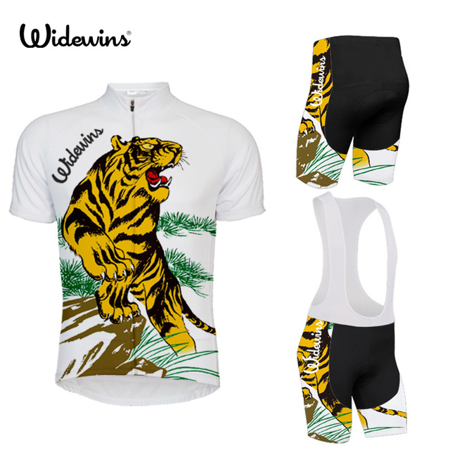 26c31b043 Breathable Tiger Cycling Jersey Summer Racing Bicycle Clothing Maillot  Ciclismo Sport wear MTB Bike Clothes Tiger Putin 5597