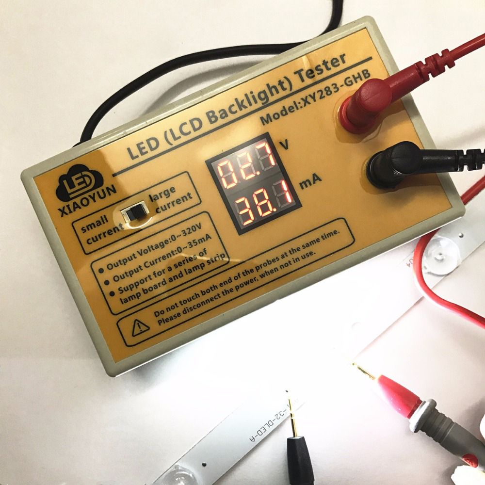LCD TV CCFL EEFL Backlight Tester Tool for All Size CCFL lamp Intelligent Test
