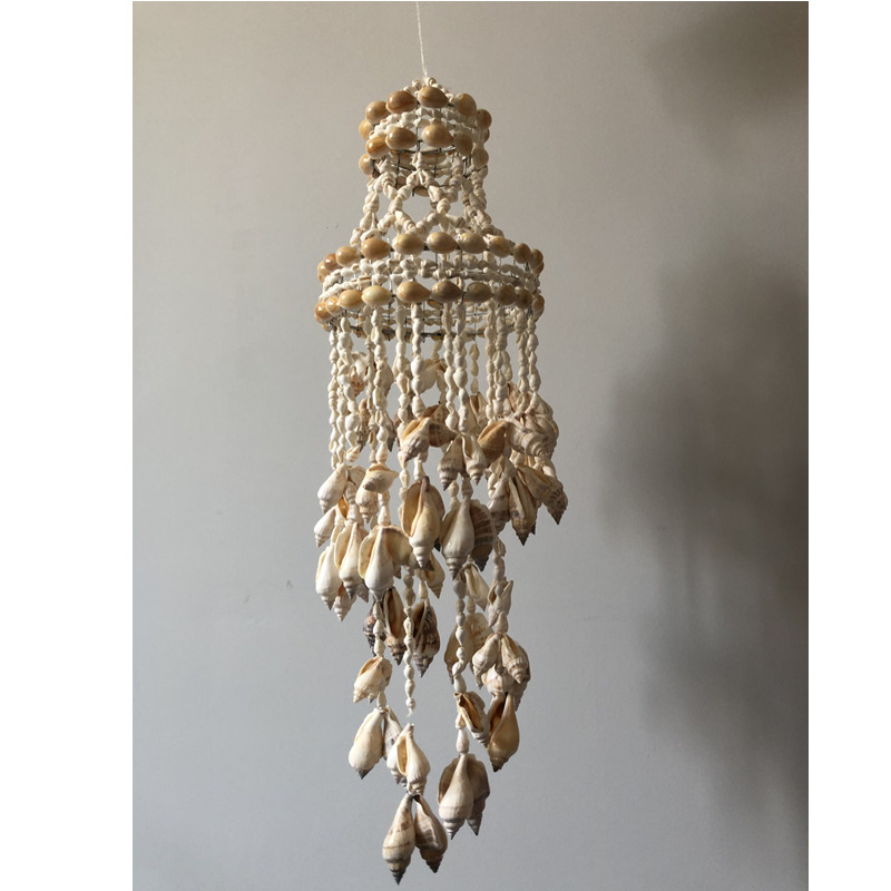 2019 shell conch Dreamcatcher Handmade Wind Chimes Hanging nordic nursery decor wall decoration kids room kids room decoration